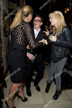 'Beautiful Thing' Press Night After Party at Salvatore and Amanda Newport Street Claire Sweeney Scott Neal and Gaby Roslin