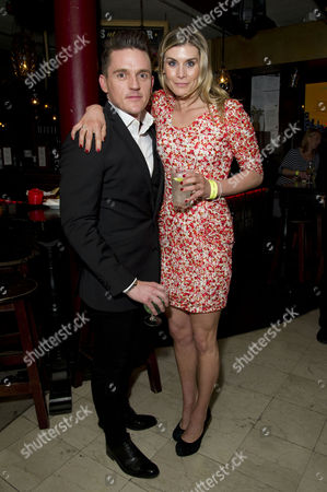 'Beautiful Thing' Press Night After Party at Salvatore and Amanda Newport Street Scott Neal and Kim Tiddy