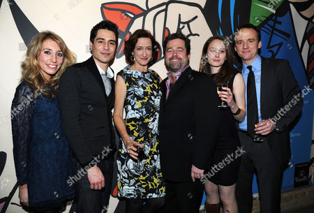 'Becky Shaw' Press Night at the Almeida Theatre Daisy Haggard Vincent Montuel Haydn Gwynne Director Peter Dubois Anna Madeley and David Wilson Barnes