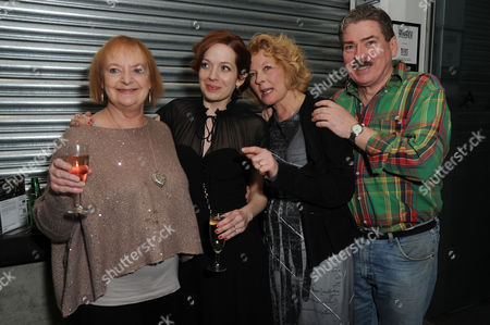 'Before the Party' Press Night at the Almeida Theatre Islington June Watson Katherine Parkinson Stella Gonet and Michael Thomas