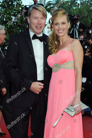 'Behind the Candelabra' Red Carpet at the Palais Des Festivals During the 66th Cannes Film Festival Mika Hakkinen with His Wife Marketa Kromatova