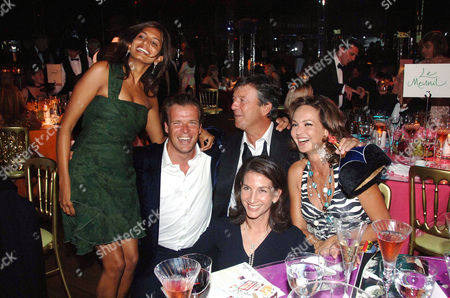 'Belle Epoque' an Evening of Decadent Glamour Hosted by the Royal Parks Foundation and Champagne Perriet Jouet at the Grand Spiegeltent the Lido Lawns Hyde Park Joel Cadbury with His Wife Divia Lalvani Hugh Roberts Countess Maya Von Schonburg and Lady Francis Russell