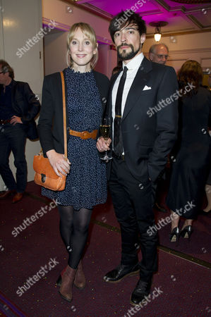'Benvenuto Cellini' First Night with the English National Opera at the London Coliseum Charing Cross Hattie Morahan with Her Partner Blake Ritson