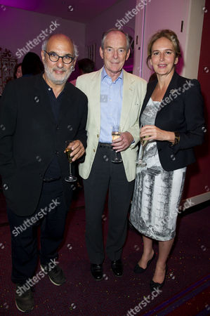 'Benvenuto Cellini' First Night with the English National Opera at the London Coliseum Charing Cross Alan Yentob and Caroline Michel