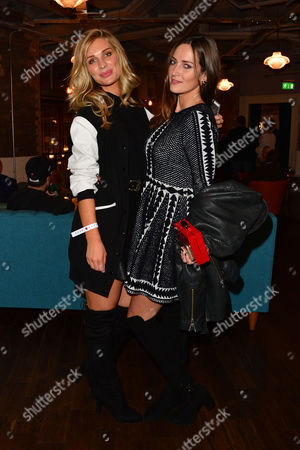 'Between Two Worlds' Premiere at the Picturehouse Central Olivia Newman-young and Francesca Newman-young