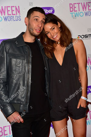 'Between Two Worlds' Premiere at the Picturehouse Central Example (elliot John Gleave) with His Wife Erin Mcnaught
