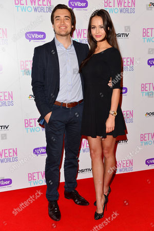 'Between Two Worlds' Premiere at the Picturehouse Central Adriano Dulgher and Bethan Wright