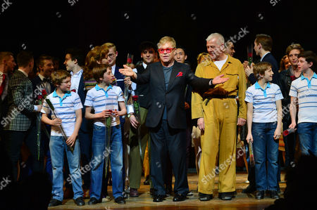 Editorial photo of 'Billy Elliot' Final Performance - 09 Apr 2016