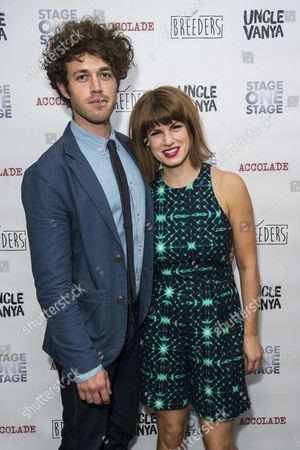 'Breeders' Press Night at St James Theatre Jemima Rooper with Her Boyfriend Ben Ockrent (writer)