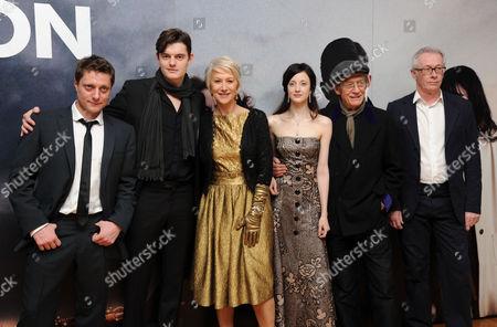 'Brighton Rock' European Premiere at the Odeon Westend Director Rowan Joffe Sam Riley Helen Mirren Andrea Riseborough John Hurt and Producer Paul Webster