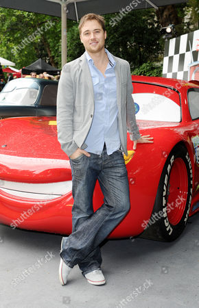'Cars 2' Uk Premiere in Whitehall Gardens Embankment Marcus Patrick