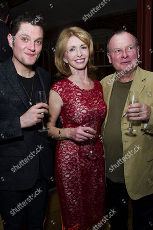 'Charley's Aunt' Press Night After Party at Menier Chocolate Factory London Bridge Mathew Horne Jane Asher and Ian Talbot