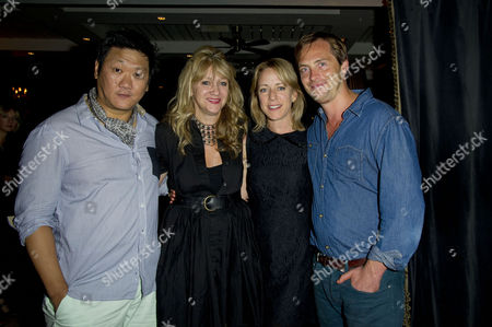 'Chimerica' Press Night at the Harold Pinter Theatre and After Party at Grace Great Windmill Street Benedict Wong Sonia Friedman Claudie Blakley and Stephen Campbell Moore