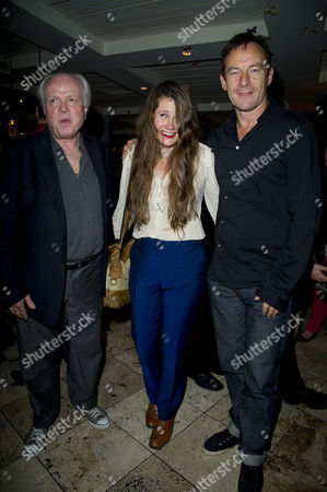 'Chimerica' Press Night at the Harold Pinter Theatre and After Party at Grace Great Windmill Street Michael Attenborough Lucy Kirkwood and Jason Isaacs