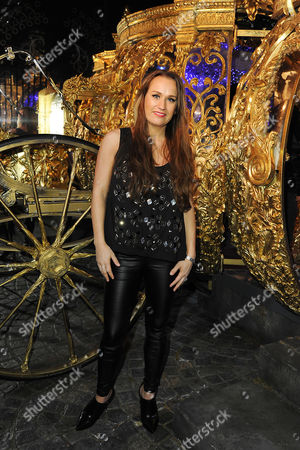 Stock Photo of Leah Wright Attends A Vip Visit of Ôcinderella: the Exhibition' Currently Open in Leicester Square Till April 9th 2015
