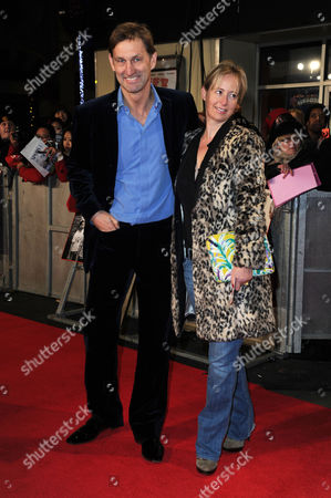 'Class of '92' World Premiere at the Odeon Westend Tony Adams with His Wife Poppy Teacher