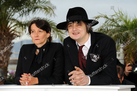 'Confession of A Child of the Century' Photocall at Palais Des Festivals During the 65th Cannes Film Festival Pete Doherty and Director Sylvie Verheyde