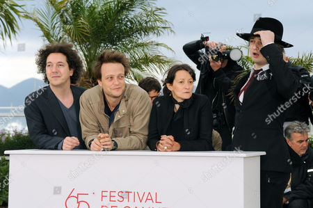 'Confession of A Child of the Century' Photocall at Palais Des Festivals During the 65th Cannes Film Festival Sylvie Verheyde (director) and Pete Doherty