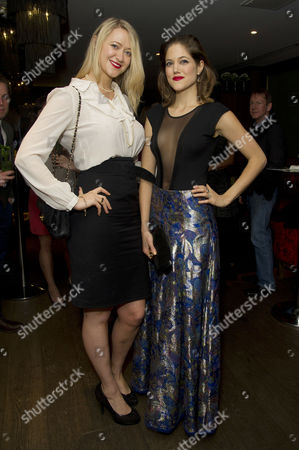 'Day of the Flowers' Premiere Afterparty at the Mayfair Hotel Siobhan Hewlett and Charity Wakefield
