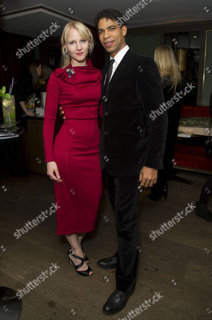 'Day of the Flowers' Premiere Afterparty at the Mayfair Hotel Carlos Acosta with His Girlfriend Charlotte Holland