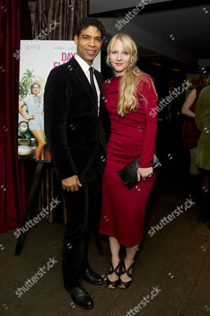 Stock Photo of 'Day of the Flowers' Premiere Afterparty at the Mayfair Hotel Carlos Acosta with His Girlfriend Charlotte Holland