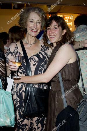'Daytona' Press Night at Park Theatre Finsbury Park Maureen Lipman with Her Daughter Daughter Amy Rosenthal