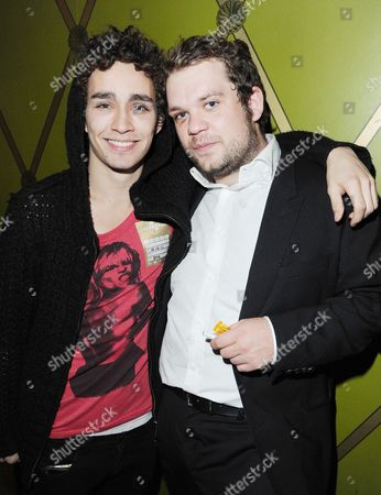 'Demons Never Die' Uk Premiere Afterparty at the Pigalle Club Piccadilly Robert Sheehan and Jack Doolan