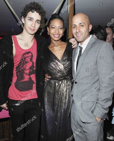 Stock Picture of 'Demons Never Die' Uk Premiere Afterparty at the Pigalle Club Piccadilly Robert Sheehan Shanika Warren-markland and Director Arjun Rose