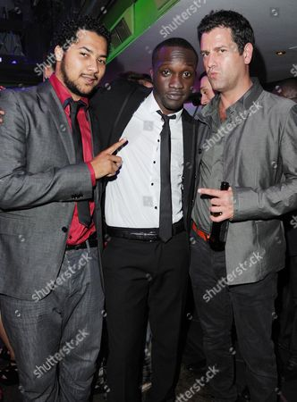 'Demons Never Die' Uk Premiere Afterparty at the Pigalle Club Piccadilly Devon Anderson Arnold Oceng (snakeyman) and Patrick Baladi
