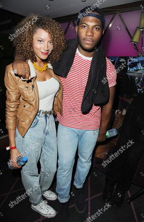'Demons Never Die' Uk Premiere Afterparty at the Pigalle Club Piccadilly Mz Bratt and Josh Oshu