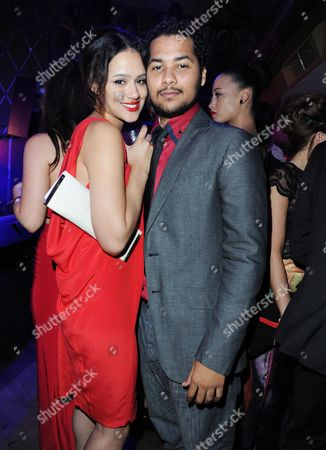 'Demons Never Die' Uk Premiere Afterparty at the Pigalle Club Piccadilly Devon Anderson and Nathalie Emmanuel