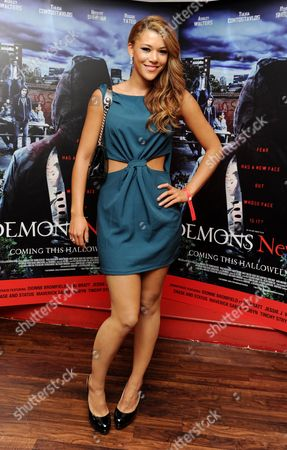 Editorial picture of 'Demons Never Die' Uk Premiere at Odeon Westend - 10 Oct 2011