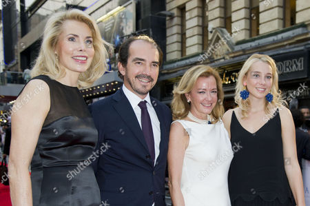 'Diana' World Premiere at the Odeon Leicester Square Guest and Caroline Scheufele
