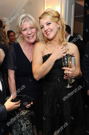 'Dirty Rotten Scoundrels' Press Night After Party at the Savoy Hotel Diane Weston with Her Daughter Sydney Stevenson