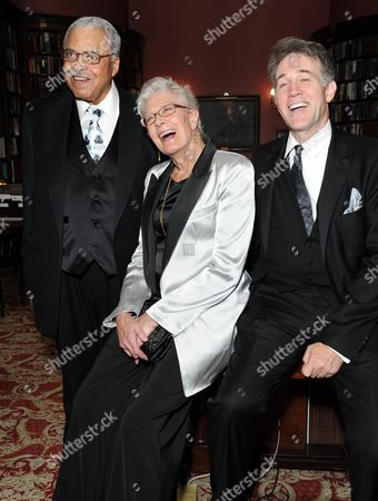 'Driving Miss Daisy' Press Night Afterparty at the Rac Club Pall Mall James Earl Jones Vanessa Redgrave and Boyd Gaines