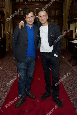 'East is East' Press Night Afterparty at Royal Horseguards Hotel Whitehall Emil Marwa and Ian Aspinall