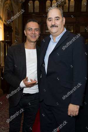 'East is East' Press Night Afterparty at Royal Horseguards Hotel Whitehall Ian Aspinall and Ayub Khan Din