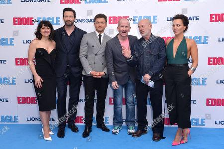 Editorial photo of 'Eddie the Eagle' European Premiere - 17 Mar 2016