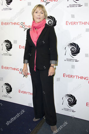 'Everything Or Nothing - the Untold Story of 007' Screening at the Odeon Westend Lucy Fleming