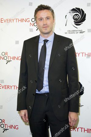'Everything Or Nothing - the Untold Story of 007' Screening at the Odeon Westend Stevan Riley the Films' Director
