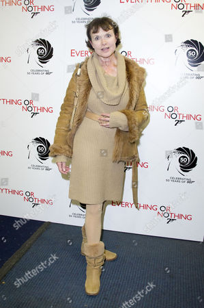 'Everything Or Nothing - the Untold Story of 007' Screening at the Odeon Westend Madeline Smith