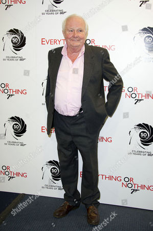 'Everything Or Nothing - the Untold Story of 007' Screening at the Odeon Westend Shane Rimmer