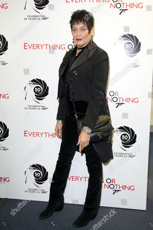'Everything Or Nothing - the Untold Story of 007' Screening at the Odeon Westend Martine Beswick