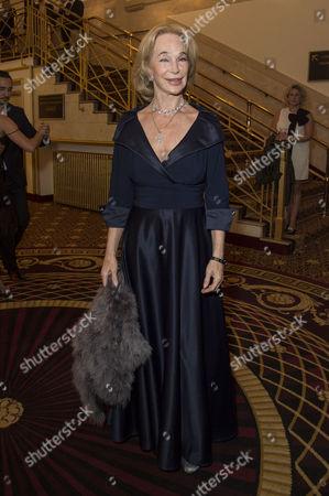 'Evita' Press Night at the Dominion Theatre Tottenham Court Road Shirley Anne Field