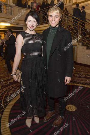 'Evita' Press Night at the Dominion Theatre Tottenham Court Road Danielle Hope and Lloyd Daniels