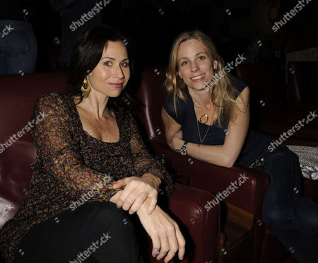'Fade to Black' Family and Friends Screening at the Electric Cinema Portobello Road Minnie Driver with Her Sister Kate Driver