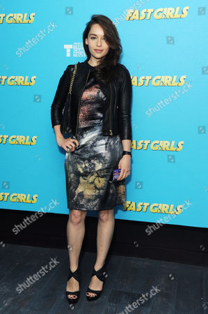 'Fast Girls' World Premiere After Party at the Paramount Club Centrepoint Emelia Clarke