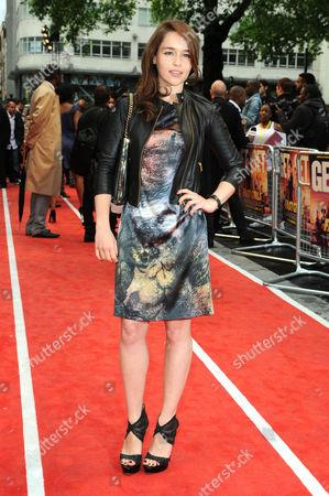 'Fast Girls' World Premiere at the Odeon Westend Emelia Clarke
