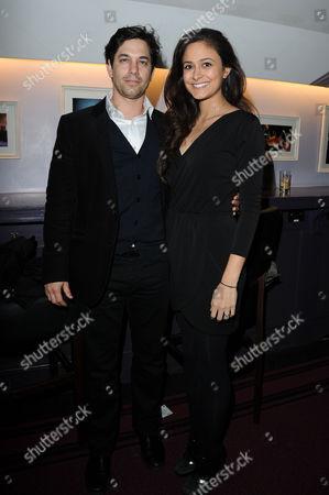 'Follies in Concert' at the Royal Albert Hall Adam Garcia with His Wife Nathalia Chubin