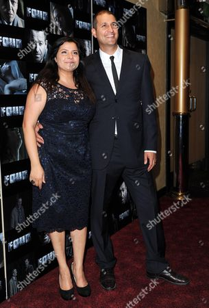 'Four' Uk Premiere at Empire Leicester Square Nina Wadia with Her Husband Raiomond Mirza